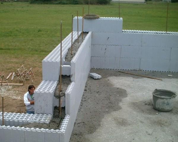 Passzívház építési technológia