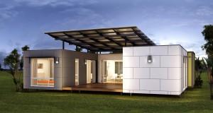 2 modern luxus mobilház