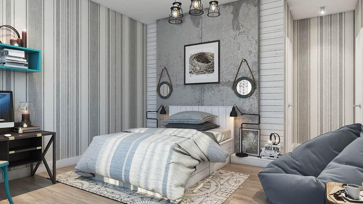 Hálószoba fal variációk – Készház Portál – Könnyűszerkezetes házak ...