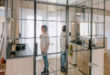 Madrid-apartment-with-no-solid-walls-bathroom-partition