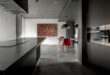 Modern-Chinese-apartment-red-dining-chairs