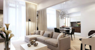 Elegant-open-layout-living-room-boasts-rich-textures-and-neutral-hues-900x637