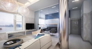 Living-Area-Stainless-Pole
