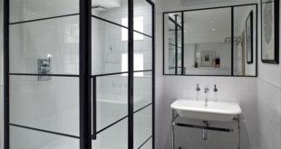 Shower-With-Black-Frame