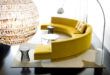Yellow-Modern-Round-Sofa