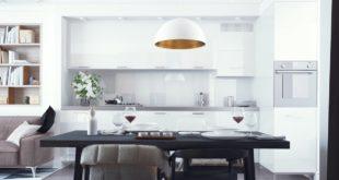 White-and-Black-Kitchen