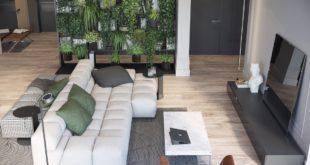 living-room-overhead-shot-hanging-garden-bookshelf
