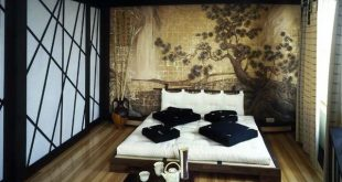 bedroom-asian-art