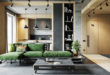 green-sectional-sofa