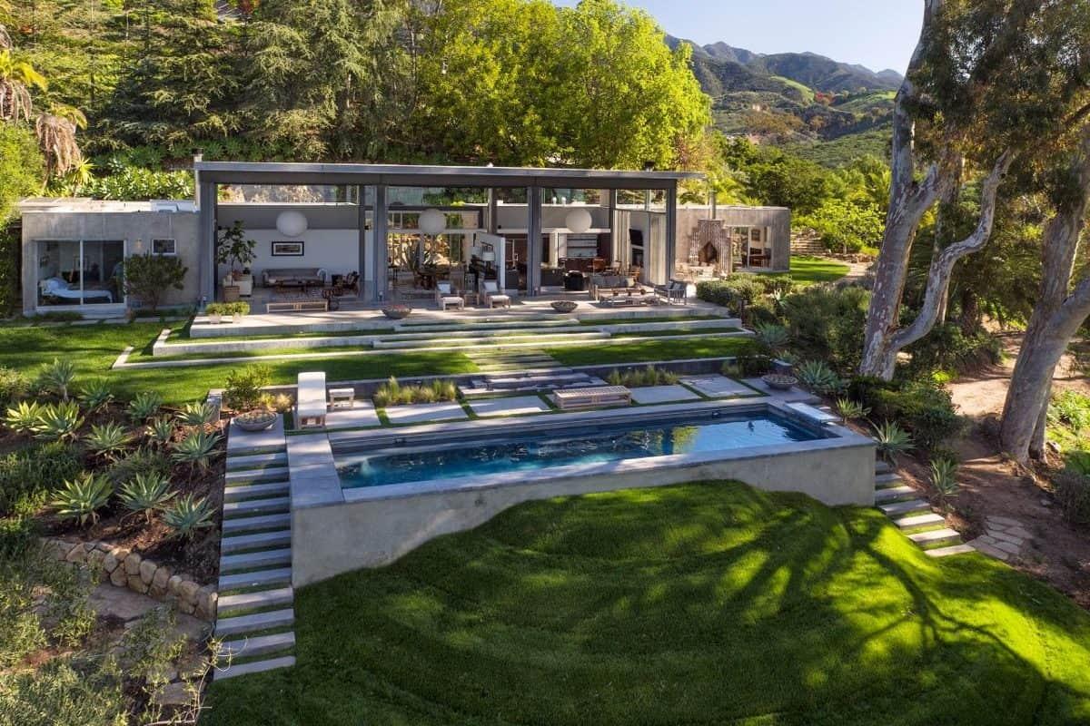 private-concrete-pool