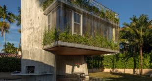 Sun-Path-House-has-a-vine-covered-facade